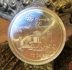 Montreal Olympics XXI 1976 Series I – Set of 4 Silver Coin 92.5% Kitchener / Waterloo Kitchener Area image 4