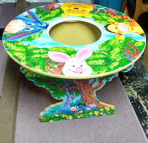 Wooden Winnie the Pooh Table