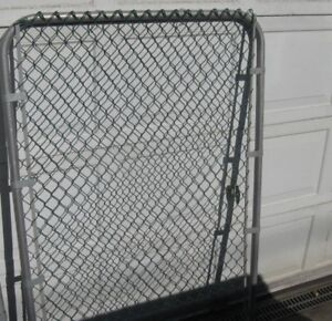 """5FT HIGH X 42"""" WIDE GREEN CHAIN LINK GATE"""