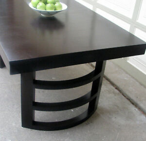 "VINTAGE MODERN DINING TABLE 40""X60"" + 1 LEAF"