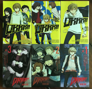 Durarara Manga (Saika and Yellow Scarves Arc)