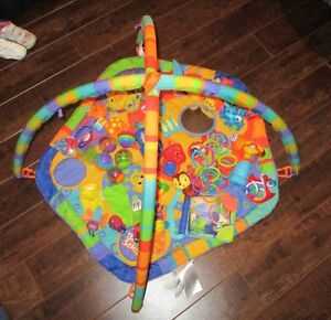 Infant play mat & toys