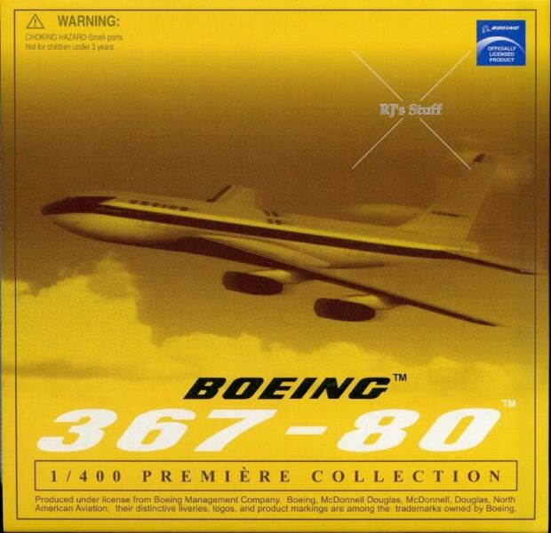 RARE Boeing 367-80 1:400 Die-Cast Scale Model in a Specially Designed Tin #55725 from Dragon Wings