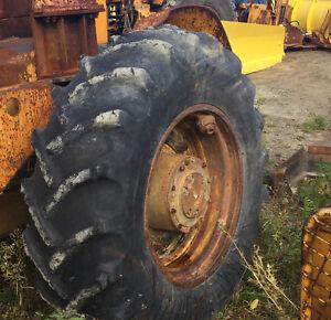 Skidder tires