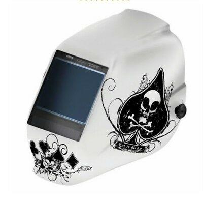 Jackson Truesight W70hlx Auto-darkening Welding Helmet- Ace Of Spades 30317