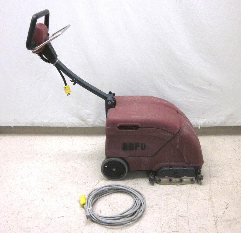 "Minuteman ES14 14"" Electric Port A Scrub Floor Scrubber 115V 1-Ph"