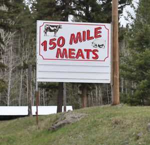 150 Mile Meat Shop and House on 3 Acres, 150 Mile House