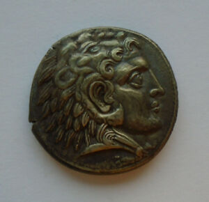 Macedonian Kingdom, ALEXANDER the GREAT Tetradrachm SILVER 327BC