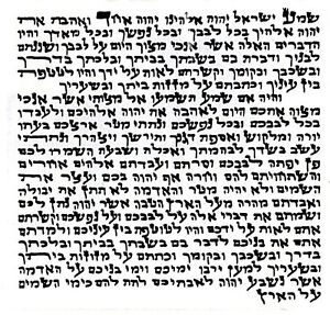 Kosher Mezuzah Parchment Mezuza Scroll Hebrew Klaf , 2.5