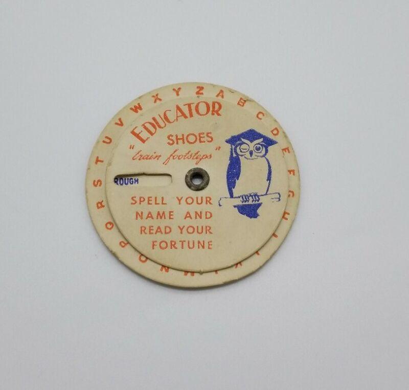 "Educator Shoes Fortune Teller Decoder ""Train Footsteps"" Round Cardstock Giveaway"
