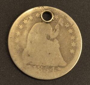 1854 Liberty Seated Half Dime