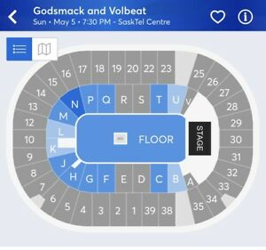 Concert tickets for sale
