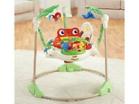 Baby jumperoo - rainforest