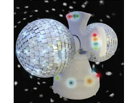 disco revolving ball Silver Disco Ball Lights DJ lights crawley