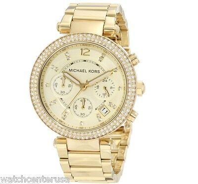 Michael Kors MK5354 Parker Stainless Steel Chronograph Womens Watch