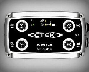 Ctek D250S Dual DC to DC Battery Smart Charger 12 Volt Solar Controller 4x4 4wd