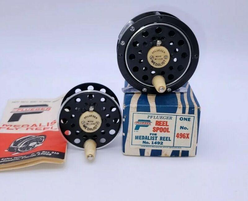 NOS Pflueger Medalist Reel 1492 Vintage 1960