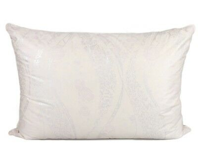 """Standard Queen Size Feather & Goose Down Pillow in Cotton Cover 20x28"""" for sale  Shipping to India"""