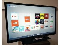 "Toshiba 40"" Smart WiFi Led tv with Freeview HD excelent conditio"