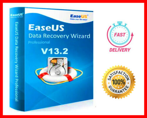 EaseUS Data Recovery Wizard v13.2 🔥 Full Version License Key  ✅ Fast Delivery ✅