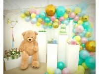 Balloon Decorations / Chair Cover Hire / Flower wall hire / Birthday Decorations/prom decor