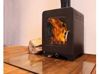 £1249 FITTED!!! Saltfire ST1 Vision or ST2 5kw Woodburning Stove, Wood Burner, Multi Fuel,