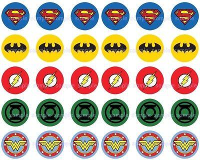 Cheap Party Snacks (Justice League DC Flash Green Lantern Eßbar Tortenbild Party Deko)