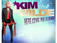 Kim Wilde Concert Tickets x 2
