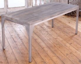 Large Contemporary Dining Table - Like New! - 240cm x 90cm - £300