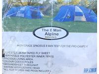 6 -8 berth tent for sale