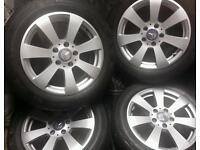 16 inch 5x112 genuine Mercedes C-class W204 alloys wheels