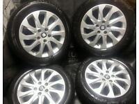 16 inch 5x112 genuine Seat Leon alloys wheels