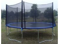 18 foot trampoline.