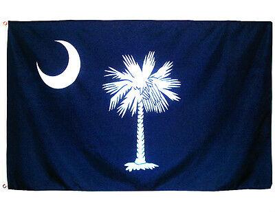 Fahne South Carolina Querformat 90 x 150 cm U.S.A. Hiss Flagge Bundesstaat USA