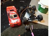 Hpi evo rush nitro buggy