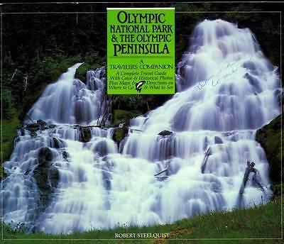 OLYMPIC NATIONAL PARK & THE OLYMPIC PENINSULA, TRAVELER'S COMPANION, NEW BOOK Olympic Peninsula National Park
