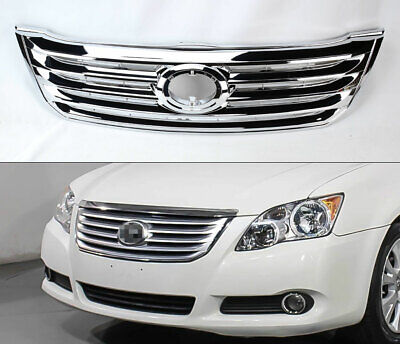 Toyota Chrome Grill - Chrome Front Bumper Replacement Grill for Toyota Avalon 2008-2010