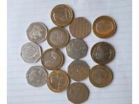 Coins rare English coins