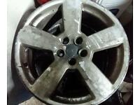 Rs6 set of alloy wheels