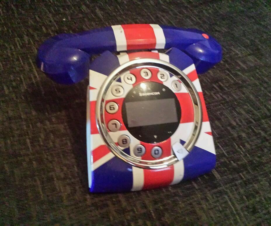 Sagemcom Sixty Retro Cordless Phone Sagemcom Sixty Digital Cordless Retro Style Telephone