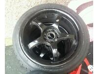 5 stud multi fit alloy wheels