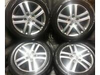 16 inch 5x112 genuine Volkswagen alloys wheels
