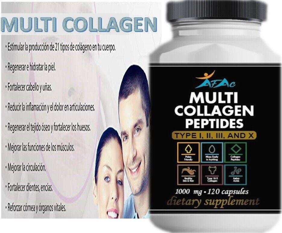 #1 Pastillas Vitaminas De Colageno Para Ayudar A Rejuvenecer Evitar Las Arrugas 8