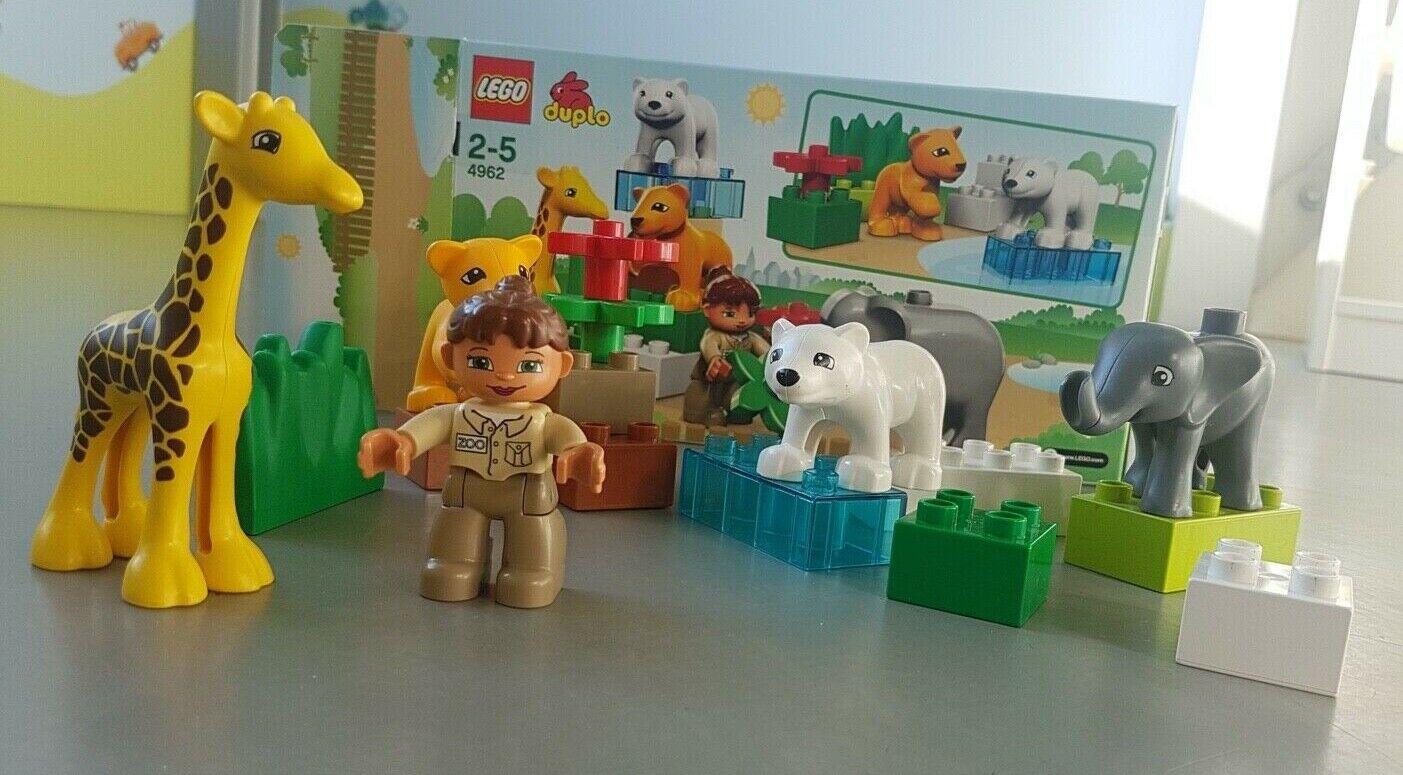 Lego Duplo 4962 * Tiere * Tierbabys * Bauernhof * Zoo
