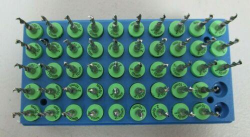 48pcs.  0.0827in. 2.10mm  D0827A10-A    Carbide PC Board Drill Bits Resharps