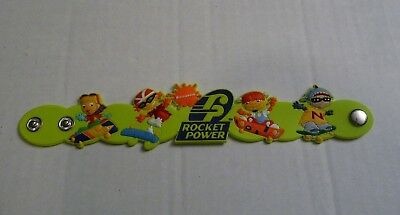 Nickelodeon Rocket Power Green Silicone Wristband Party Favors Wristband](Party Rocket)