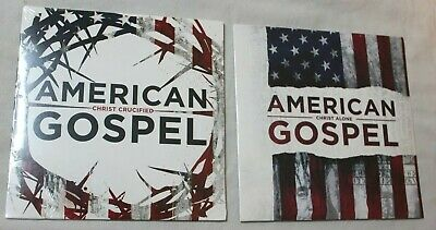 2 DVD Set: American Gospel Christ Alone & American Gospel Christ Crucified, New