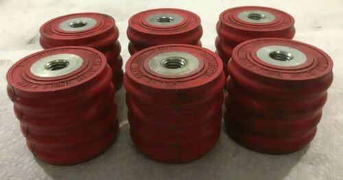 "Lot of 6 Transtech 106601 Delta Star Insulators 2 3/4"" x 3""  (i32)"