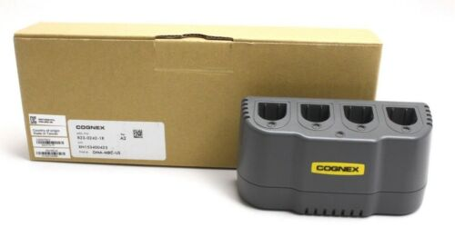**new** Cognex Multi Battery Charger For Dataman Readers Dm8500 Dm8600 8500 8600