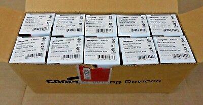 10 Feder Arrow Hart 5362GY Duplex Behälter 20A 20 Ampere 2P 3W 125V Nema 5-20R